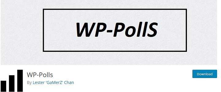 افزونه WP-Polls