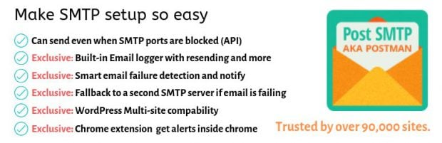 بهترین افزونه های SMTP وردپرس