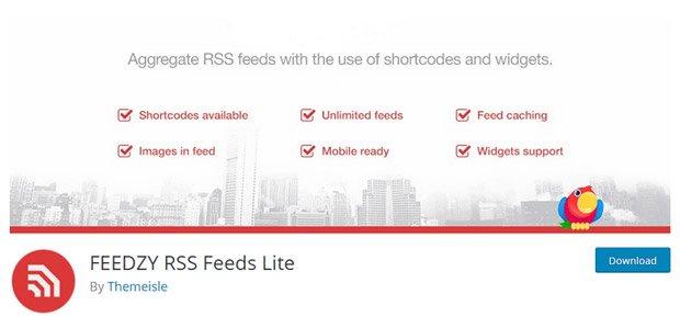 آموزش افزونه Feedzy RSS Feeds