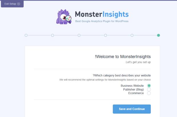 افزونه MonsterInsights