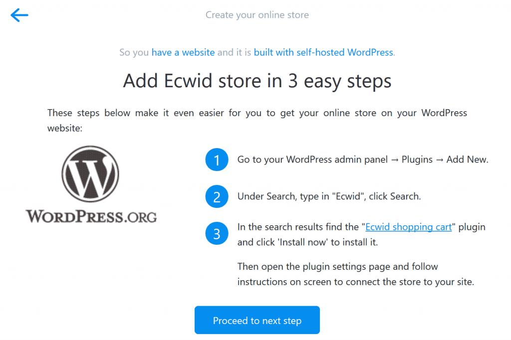 آموزش افزونه Ecwid