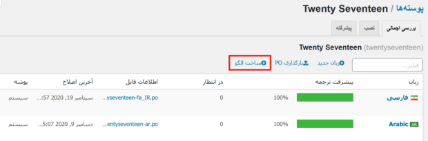 آموزش افزونه Loco Translate