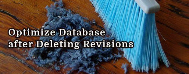 آموزش افزونه Optimize Database after Deleting Revisions