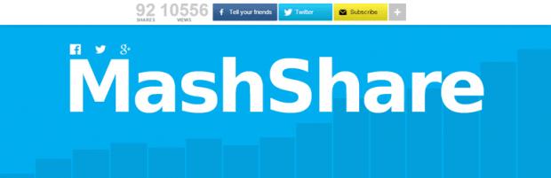 آموزش افزونه MashShare
