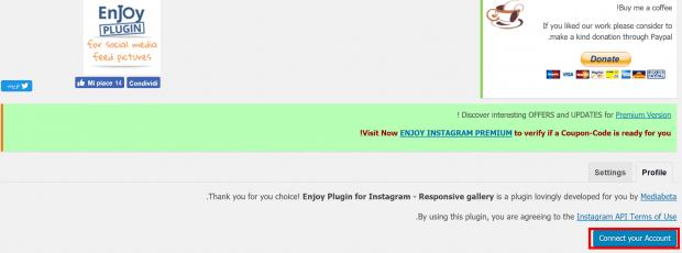 آموزش افزونه Enjoy Plugin for Instagram