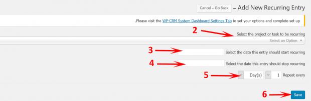 آموزش افزونه WP-CRM System