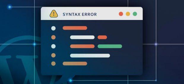 خطای Syntax Error