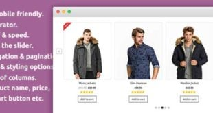افزونه Product Slider for WooCommerce
