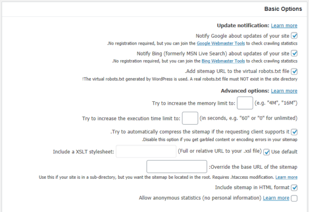 افزونه Google XML Sitemaps