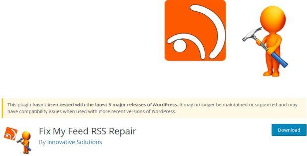 خطای فید RSS