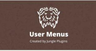 افزونه User Menus