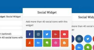 Meks Smart Social Widget