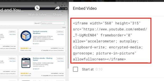 Widget Responsive for Youtube