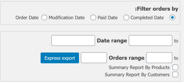 Advanced Order Export For WooCommerce