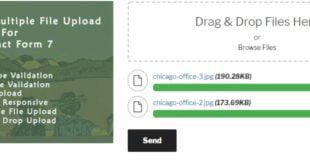 Drag and Drop Multiple File Upload