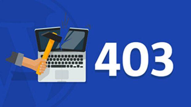خطای 403 در وردپرس